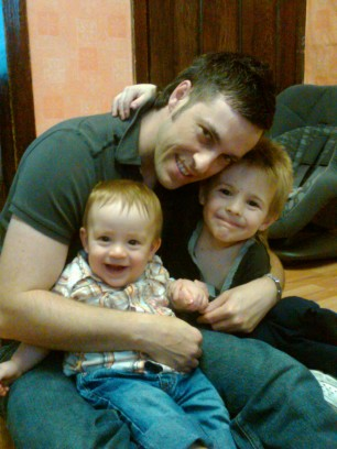 Hubby and the Boys