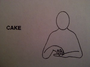 Makaton Monday ~ Bruiser's First Signs