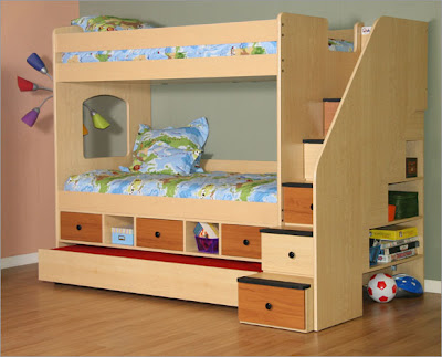 King single bunk bed plans