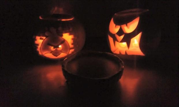 Scary Pumpkin Pie