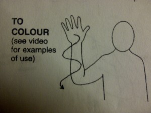 Makaton Monday ~ Colouring Bruiser's World