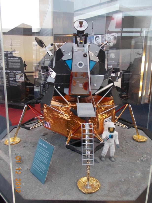 Replica Lunar Module