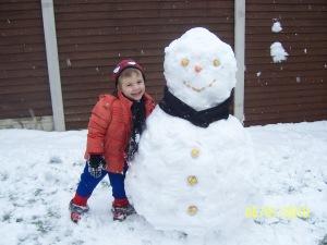 Wriggler's 2nd Snowman