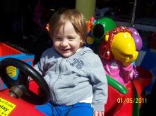 Bruiser's 1st amusement ride