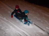 sledging fun