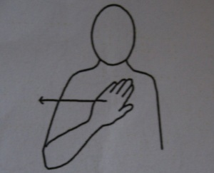 Makaton Monday ~ No!