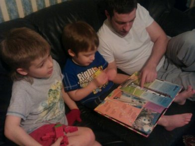 bedtime story with Daddy... rocket facts and figures