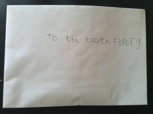 To the Tooth Fairy