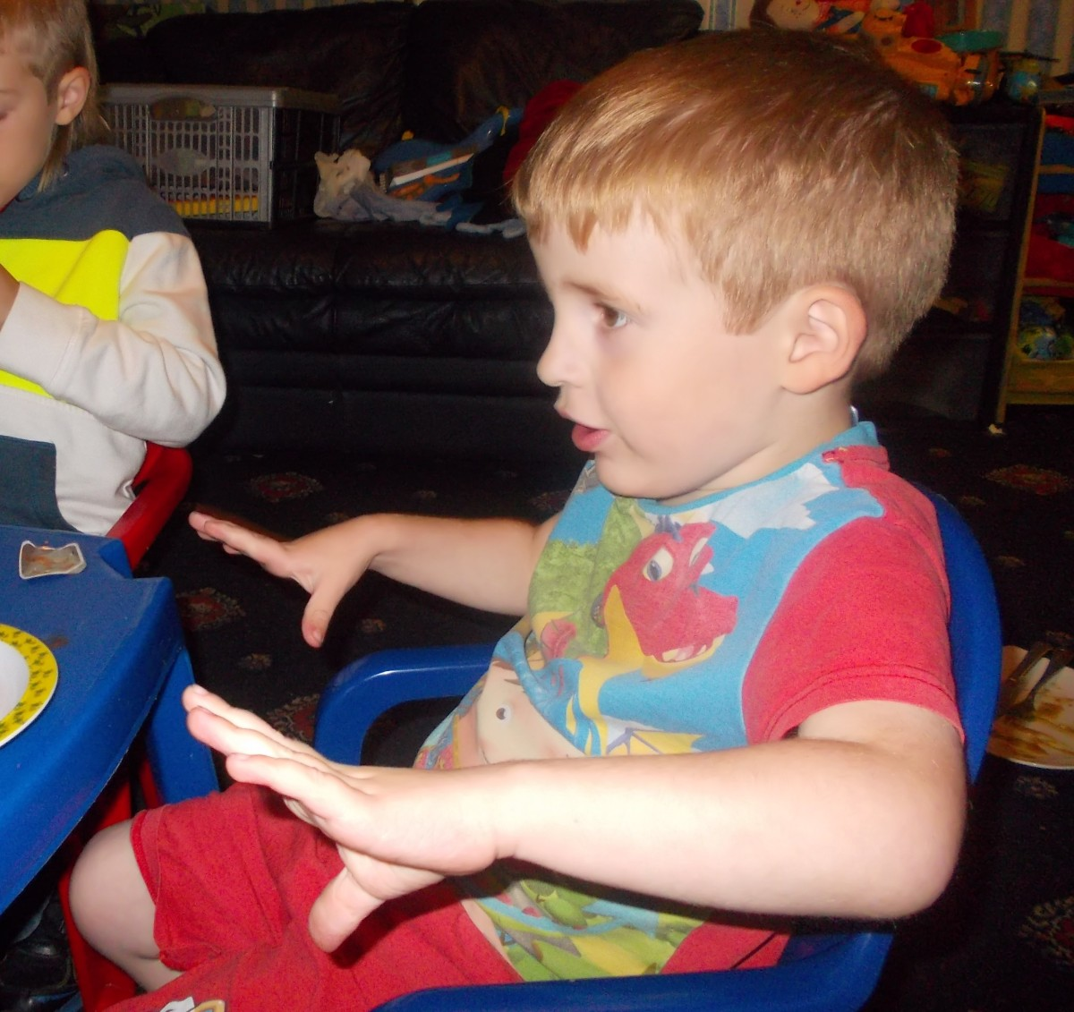 Makaton Monday ~ To Finish