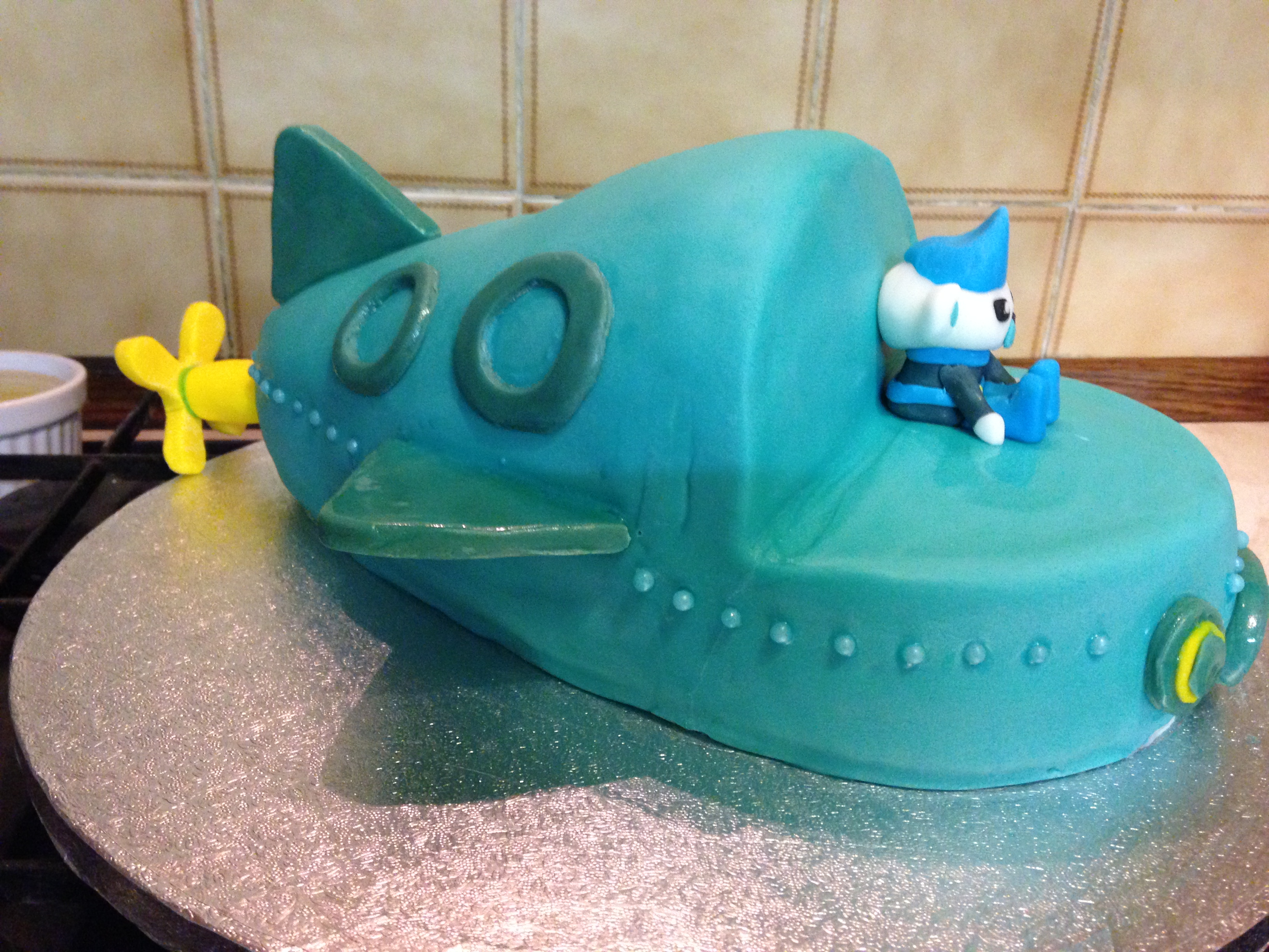 Octonauts Birthday Cake Mummy Wife Woman