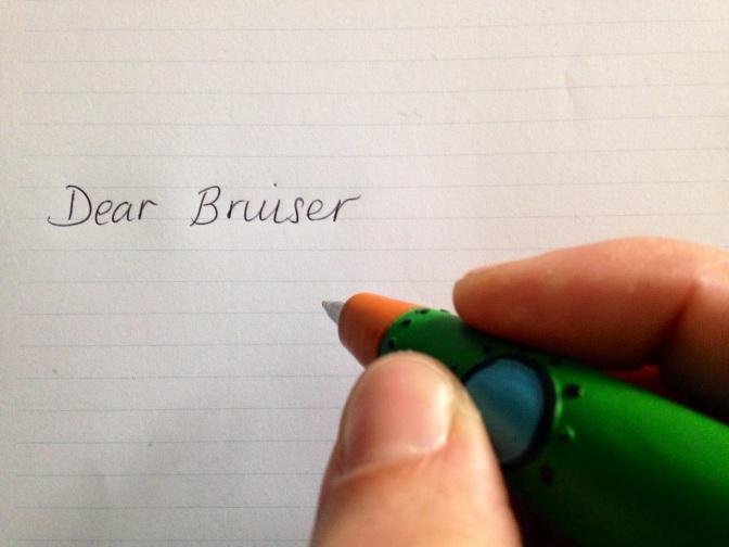 dear bruiser